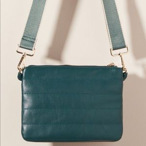NEW! Anthropologie Quilted Crossbody Bag